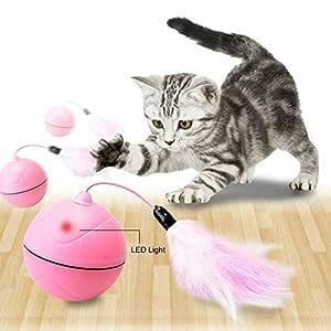 Greetuny 1pcs Bola Magica para Mascotas Creativo Automatica Roller ...
