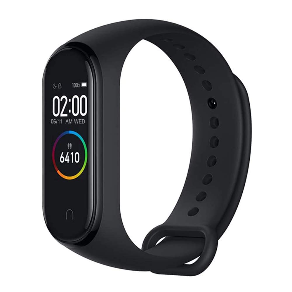 """AEE Mi Band 4 Health & Fitness Tracker Exercise Band, Heart Rate Monitor Activity Tracker, Sports Watch 0.95"""" Color AMOLED Display- Global Version"""