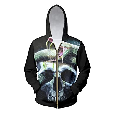 Amazon.com: Sudadera doble gruesa con capucha para hombre ...