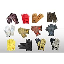 TOP QUALITY REAL SOFT NAPPA LEATHER MEN'S DRIVING GLOVES -D507