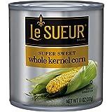 Le Sueur Whole Kernel Corn, Super Sweet Flavor, 11 Ounce (Pack of 12)