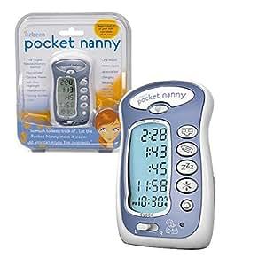 Pocket Nanny - Baby Care Timer (Round the clock baby tracker) - Blue