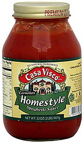 Casa Visco Sauce,Og2,Homestyle 32 Oz (Pack Of 12) by Casa Visco