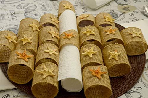 Wedding Napkin ring holder/Napkin Holder/Rustic Holder/Theme wedding/Beach theme decor/Beach wedding/Rustic party/Office Party decor/Retirement party/Farmhouse theme/School party/Birthday decor/Dining ()