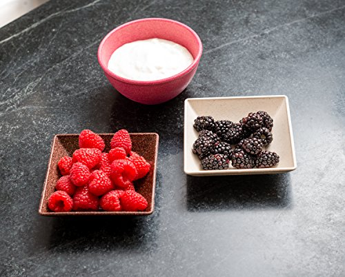 EVO Sustainable Goods 10 oz. Bowl Set, Dark Brown by EVO Sustainable Goods (Image #7)