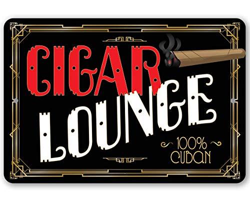 Metal Sign - Cigar Lounge - Durable Metal Sign - 8