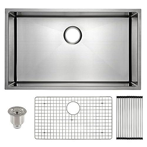kitchen sinks with drainboard amazoncom - Kitchen Sink With Drainboard