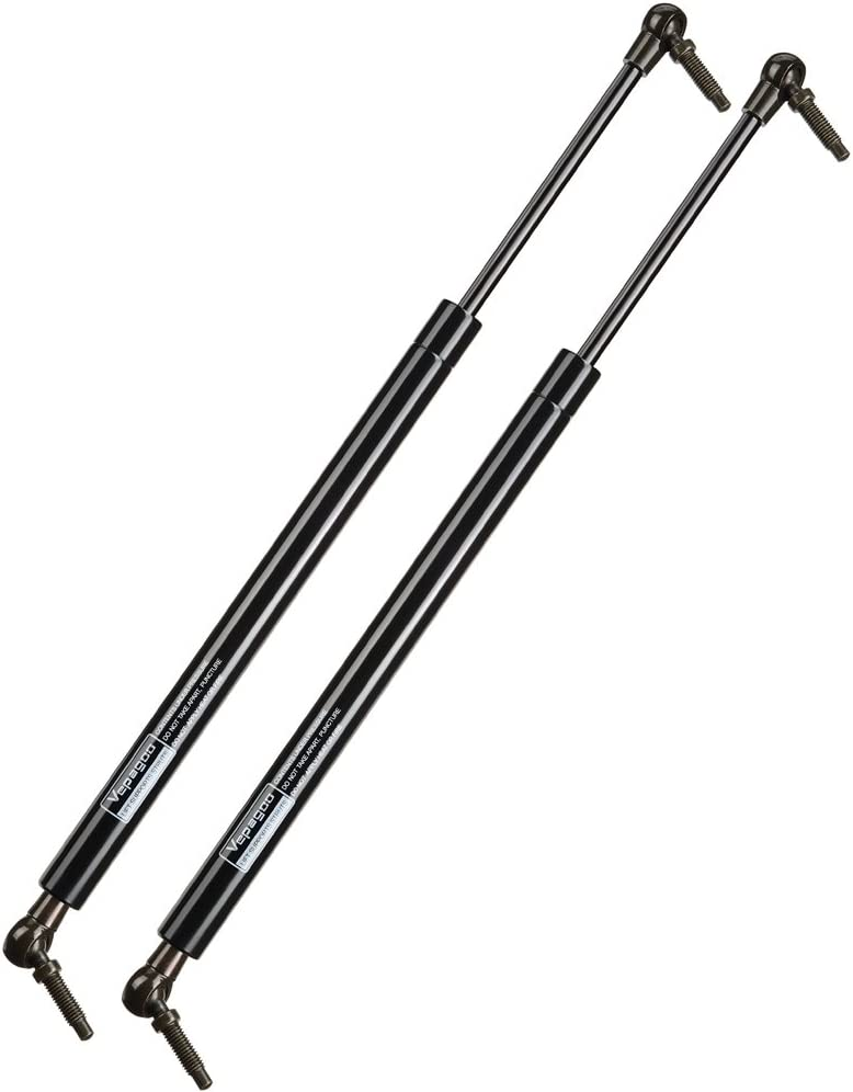 X AUTOHAUX 2pcs Rear Truck Lift Supports Struts Shocks Gas Spring 55394245AB for Jeep Grand Cherokee 2005-2010