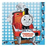 16 2ply James Thomas the Tank Engine Childrens Birthday Party Lunch Napkins