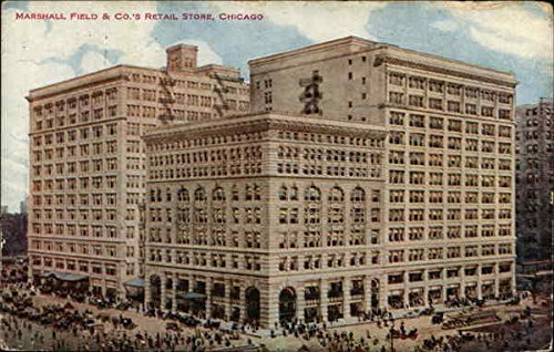 marshall-field-cos-retail-store-chicago-illinois-original-vintage-postcard