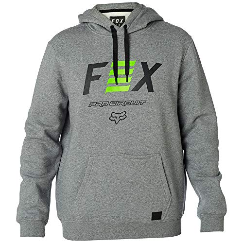 Fox Racing Pro Circuit Pullover Hoody-Heather Graphite-L