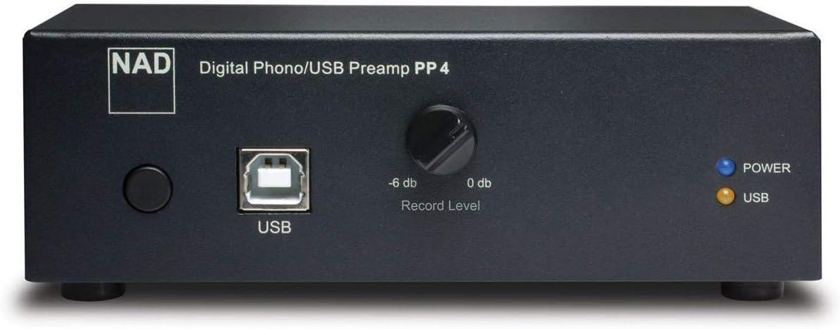 Amazon.com: NAD PP4 Digital Phono USB preamplificador ...