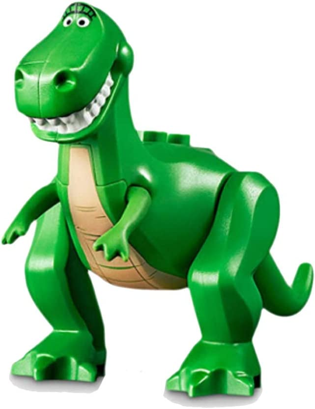 LEGO Toy Story 4 MiniFigure - Rex Dinosaur Animal (with Tan Belly) 10769