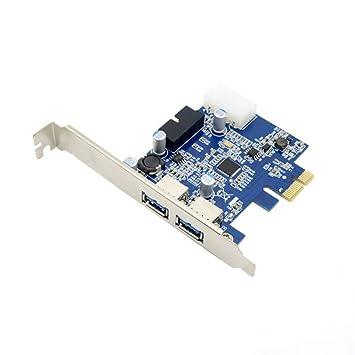USB 3.0 de 4 puertos PCI-E tarjeta de puerto y 2 interiores ...