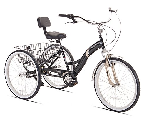 Kent Bayside Adult Tricycle, 24-Inch