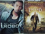 I Am Legend , I, Robot : Will Smith Sci Fi 2 Pack Collection