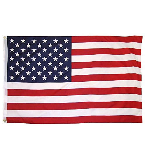 American Flag:Best Quality US Flag Patriot Banner 3x5 ft USA Flag (3 by 5 foot Polyester)