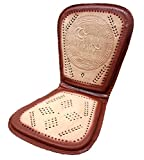 Car Leather Seat Cushion Horses Design