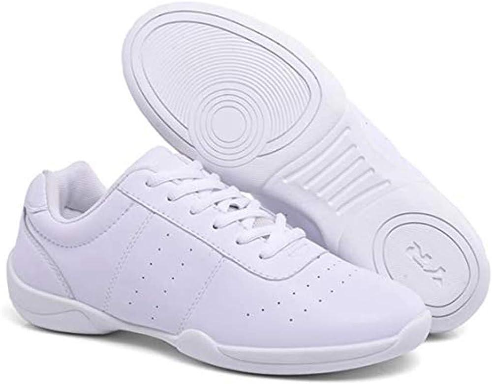 DADAWEN Womens Girls Cheerleading Shoes Dance Sneakers Yoga Shoes