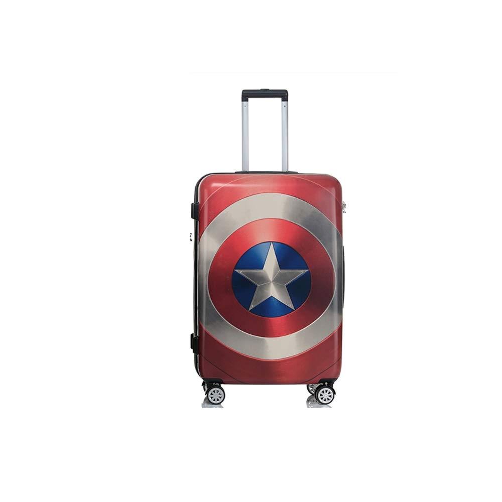 GYZ 荷物スーツケース学生トロリーユニバーサルホイール人格男性と女性搭乗複雑なダブル落書きスーツケース、3サイズから選択 荷物箱 (Size : 25.5cmX23cmX49.5cm) B07TC4X5FS  25.5cmX23cmX49.5cm
