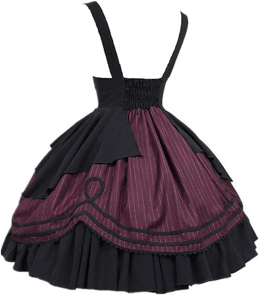 Falda de Mujer Retro Lolita Falda gótica de la Edad Media Falda de ...