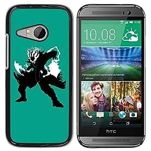 LECELL -- Funda protectora / Cubierta / Piel For HTC ONE MINI 2 / M8 MINI -- Shadow Warrior --