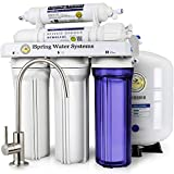 iSpring RCC7 High Capacity Under Sink 5-Stage Reverse Osmosis Drinking Water Filtration System and Ultimate Water Softener- 75GPD - WQA Gold Seal Certified