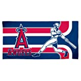 Anaheim Angels Fiber Reactive Pool/Beach/Bath Towel (Team Color)