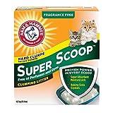 ARM & HAMMER Super Scoop Cat Litter, Fragrance Free, 12.7-kg