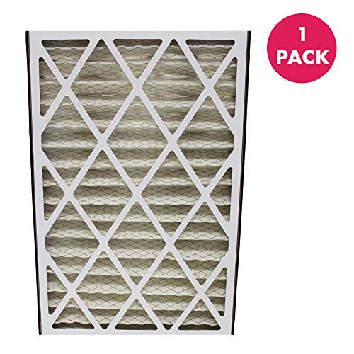 Think Crucial Replacement Air Purifier Filter Compatible With Lennox Part # X0581,BMAC-12C & Models MERV 8 – Lennox: BMAC-12C,BMAC12C,BMAC12 – Trion 255649-101 (1 Pack)