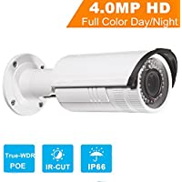 4.0MP Security Bullet Cameras English Version IP Camera DS-2CD2642FWD-IS 4MP WDR Network Camera HD 1080p Real Time Video IR PoE CCTV Camera with Audio and Alarm Terminals