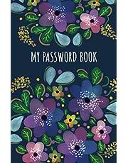 My Password Book: Internet Address Organizer | Password Logbook | Internet Password Book with Tabs | Password Booklet