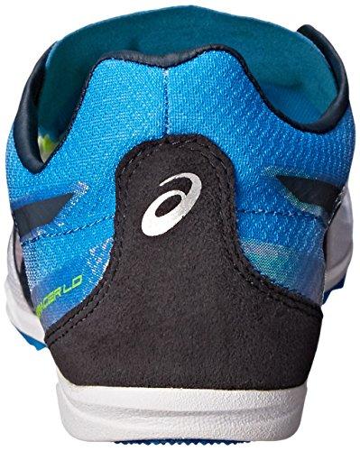 Asics Mens Cosmoracer Ld Track Shoe Bianco / Blu Metile / Ardesia Scura