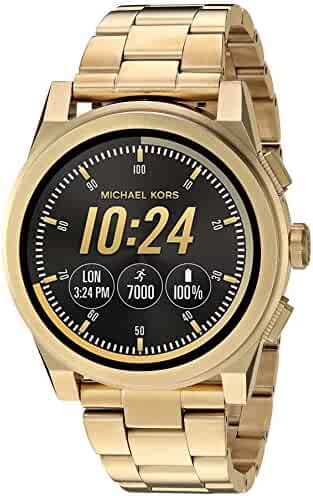 Michael Kors Access, Men's Smartwatch, Grayson Gold-Tone Stainless Steel, MKT5026
