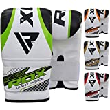 RDX Maya Hide Bag Mitts Heavy Boxing Punch Speed Gloves MMA Punching Kickboxing Sparring Muay Thai Martial Arts