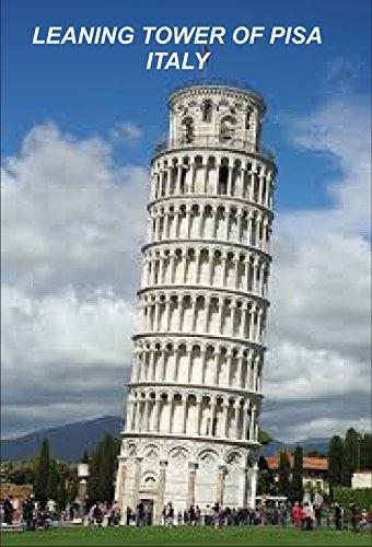 Italy Italian Italia Fridge Refrigerator Magnets (1 Piece, Leaning Tower Of Pisa -B8)