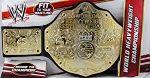 WORLD HEAVYWEIGHT CHAMPIONSHIP WWE MATTEL KID SIZE TOY WRESTLING BELT