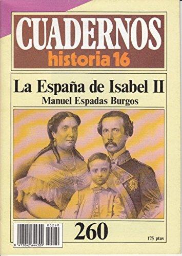 CUADERNOS HISTORIA 16 Nº 260 - LA ESPAÑA DE ISABEL II: Amazon.es ...