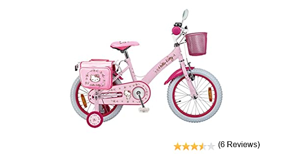 INJUSA Hello Kitty - Bicicleta Romantic 16