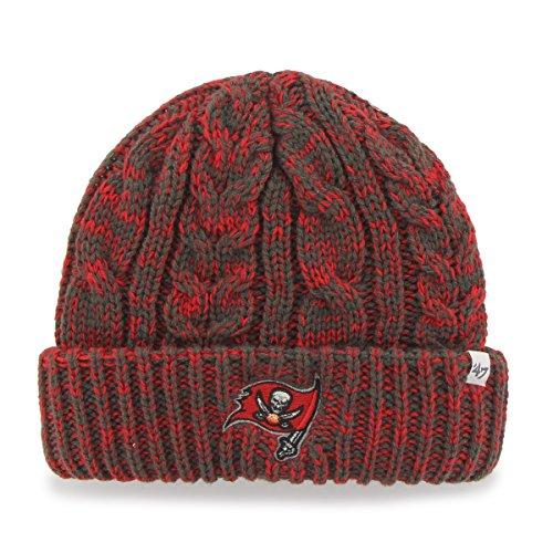 - '47 NFL Tampa Bay Buccaneers Women's Prima Cuff Knit Beanie, Graphite