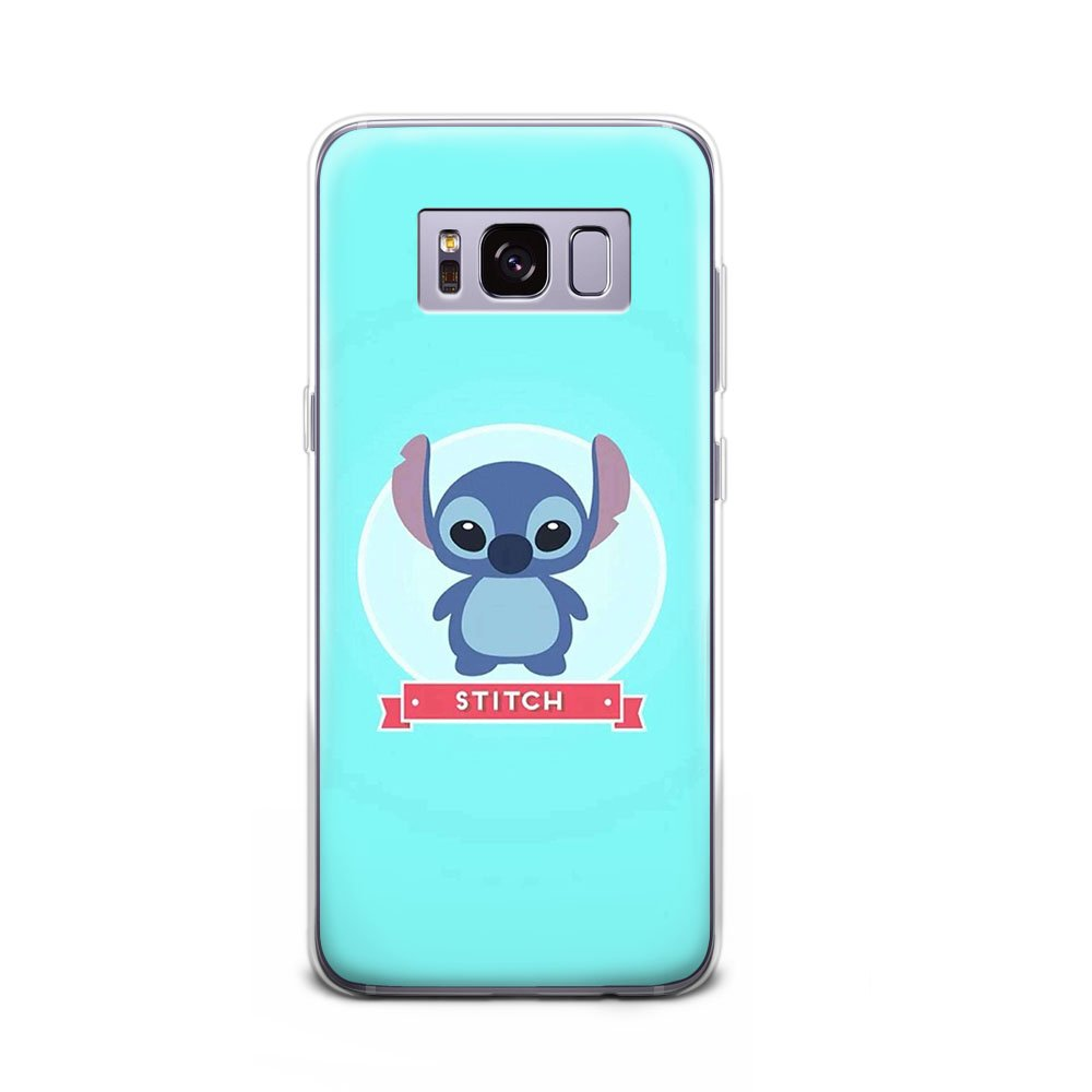 Gspstore Galaxy S8 Case Lilo Stitch Disney Cartoon Cute Case Soft Transparent Tpu Protector Cover For Samsung Galaxy S8 Color 9