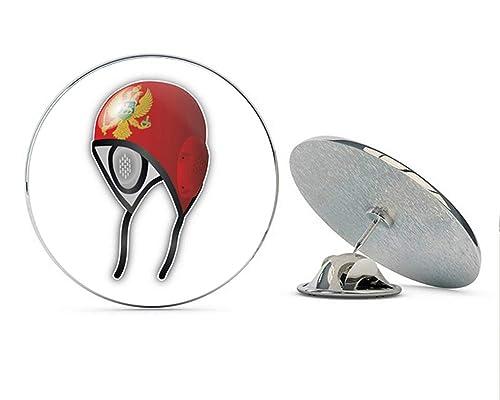 Amazon.com: Montenegro Flag Water Polo Cap Round Metal 0.75 ...