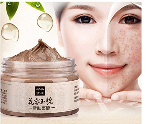 Skin Care Herb Acne Scar Blackhead Mite Treatment Whitening Face Mask Cream 120g by Superjune ()