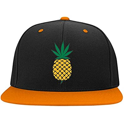 COLIVY Pineapple Express Weed Leaf Snap Back Hat from COLIVY