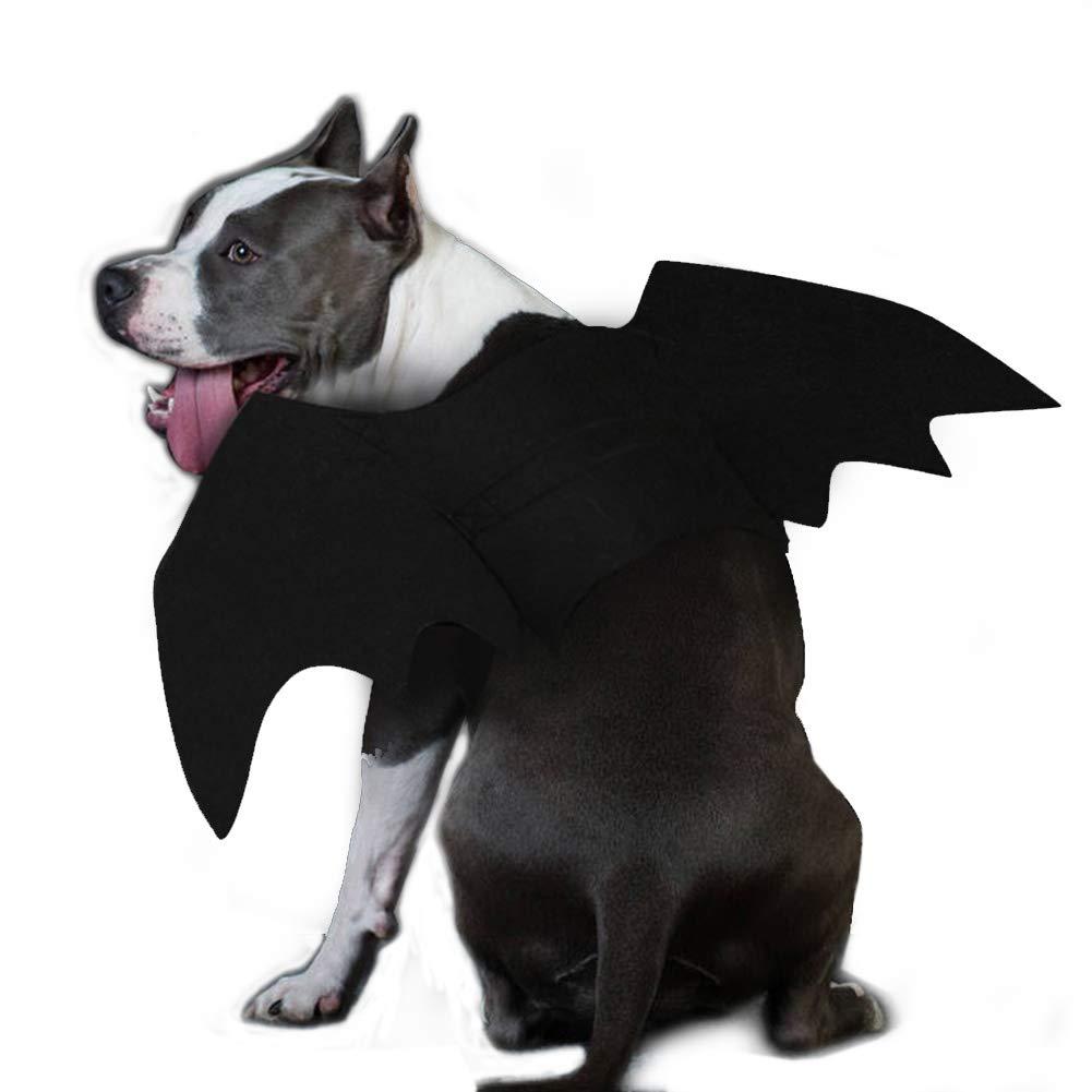 Ehdching Cat Costume Halloween Pet Bat Wings Cat Dog Bat Costume by Ehdching