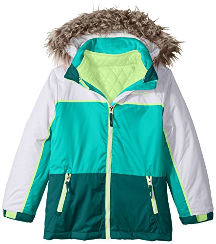 Quilted Puffer Systems Little with Coat Country Girls' Free Fan Jade 0ZY7qwAUxn