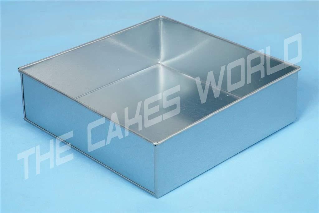 18cm by EUROTINS Forma di quadrato stampi per dolci Teglia per torta