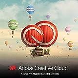 Adobe Creative Cloud, Student & Teacher License (12-Month License) (PC/Mac) [Download]
