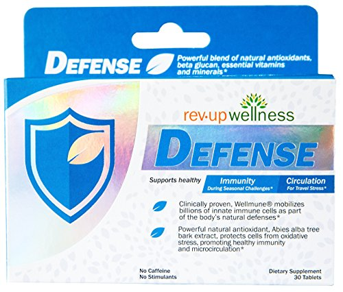 Cheap Rev Up Wellness DEFENSE • Natural Supplement Blend, Clinically Proven Immune Booster Plus Powerful Natural Antioxidants