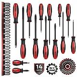 Olsa Tools Magnetic Screwdriver Set | 14 PCS